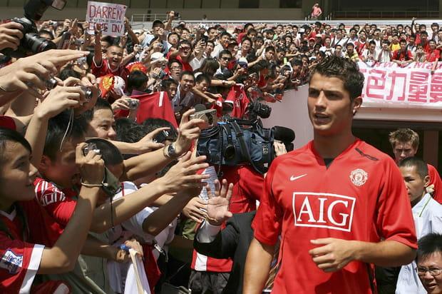 Une banderole dans le ciel pour faire revenir Cristiano Ronaldo à Manchester