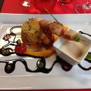 Plat : Le Café Foutu  - Brochette de saint Jacques -