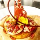 Plat : Le Gros Lierre  - homard butternut emulsion coco -   © yvp