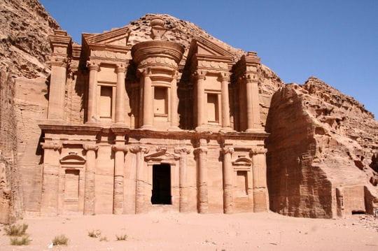 Le Deir de Petra en Jordanie