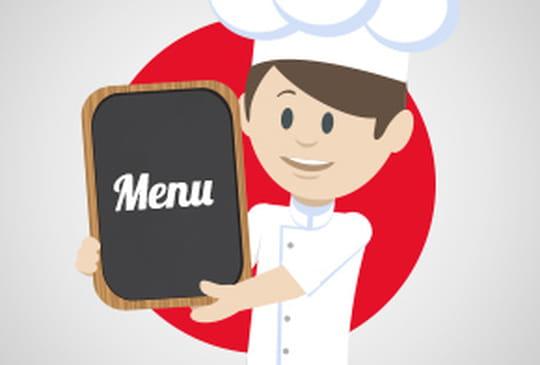 Comment renseigner le menu de mon restaurant?