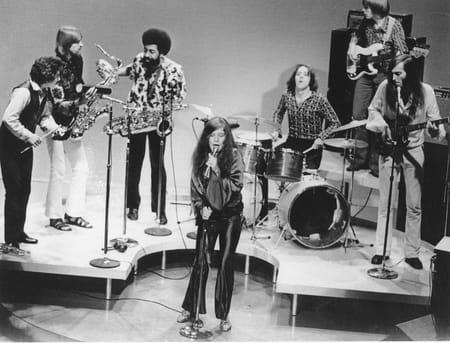 Janis Joplin se produit avec son groupe Big Brother and the Holding Company en décembre 1969