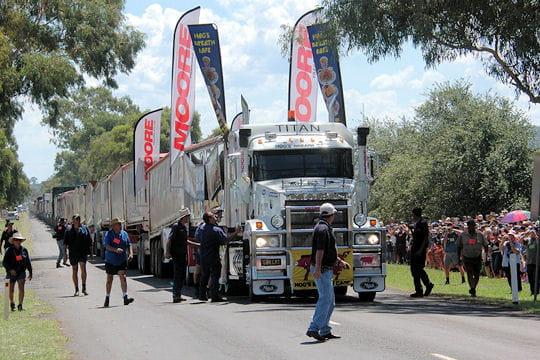 Plus long convoi routier
