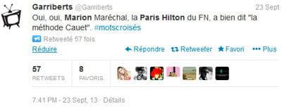tweet garriberts