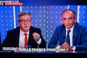 Débat Zemmour - Mélenchon: immigration, islam... Des échanges tendus, les temps forts