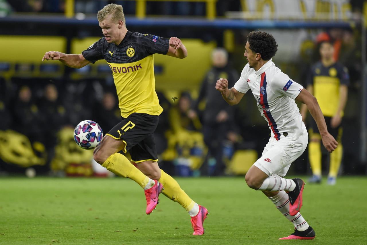 Dortmund - PSG(2-1): quelle classe de Haaland! résumé du match, vidéos et notes