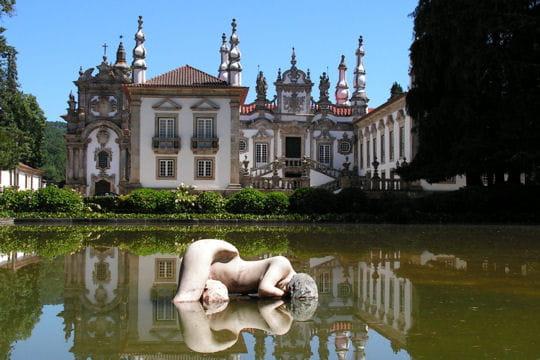 Le palais Mateus et son jardin à la française