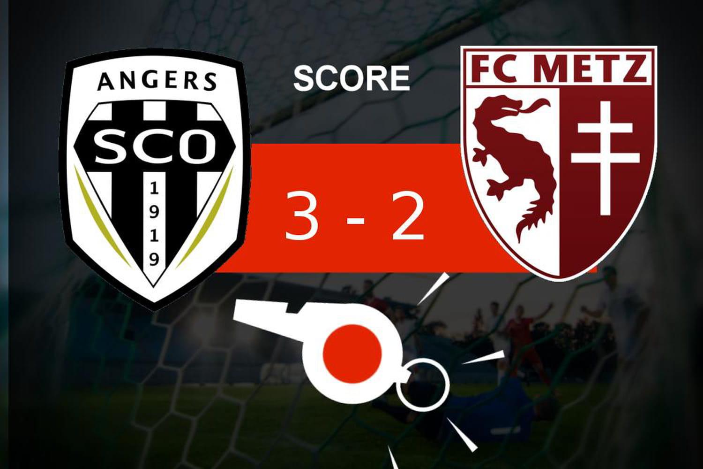 Angers - Metz: victoire pour l'Angers SCO (3-2), revivez les moments clés du match
