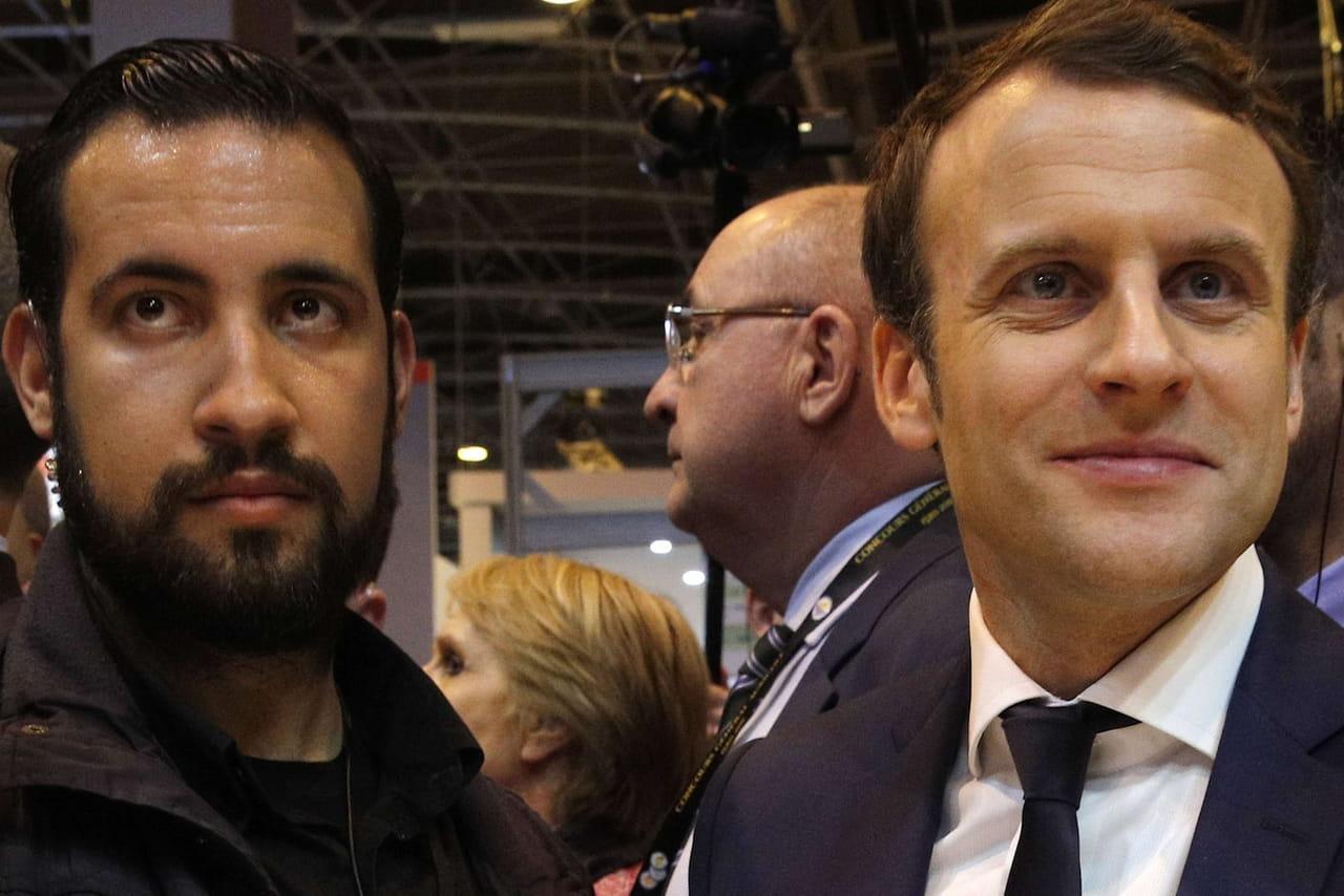 Alexandre Benalla: une proximité avec Macron affichée... sur Tinder