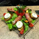Océan  - Salade au chèvre chaud -   © Hôtel Océan