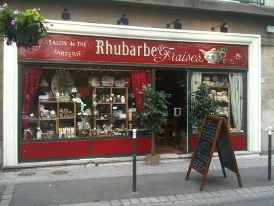 Rhubarbe Et Fraises Salon De The A Yvetot Avec Linternaute