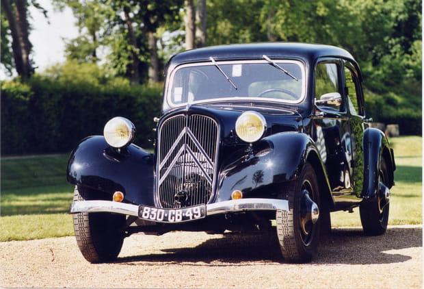 La Citroën Traction souffle ses 80bougies