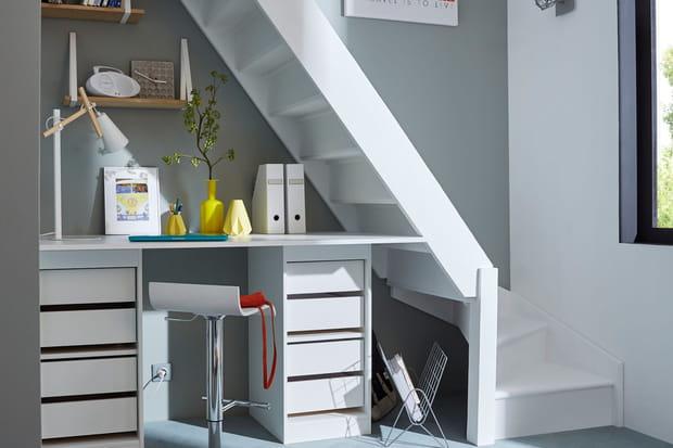 Nos meilleures idées pour aménager l'espace sous un escalier