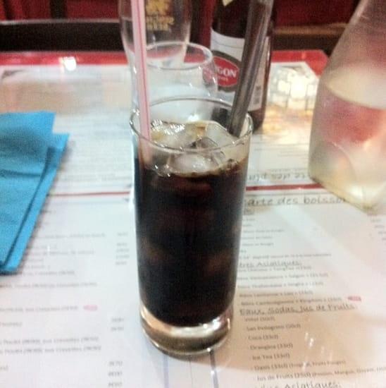 Boisson : Le Saigon  - Ca Phe Da (café glacé) au café Trung Nguyen ! Comme à Saïgon ! -