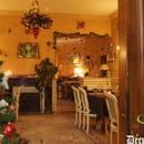 La Sauldraie  - La salle de restaurant de la Sauldraie décorée pour Noêl 2011 -
