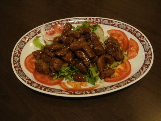 Plat : Kim San  - Boeuf Loc-Lac -   © Restaurant Kim San