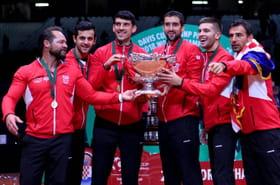 L'espoir puis les larmes: la finale de la Coupe Davis 2018en images