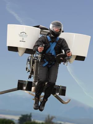 ce dispositif peut porter un indivdu à 1 600 m d'altitude.