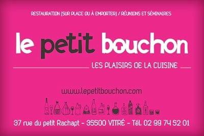 Le Petit Bouchon  - Carte de visite -   © Afouchet