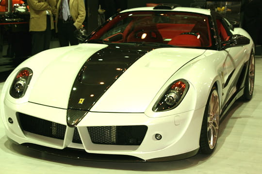 ferrari 599 gtb by mansory. Black Bedroom Furniture Sets. Home Design Ideas