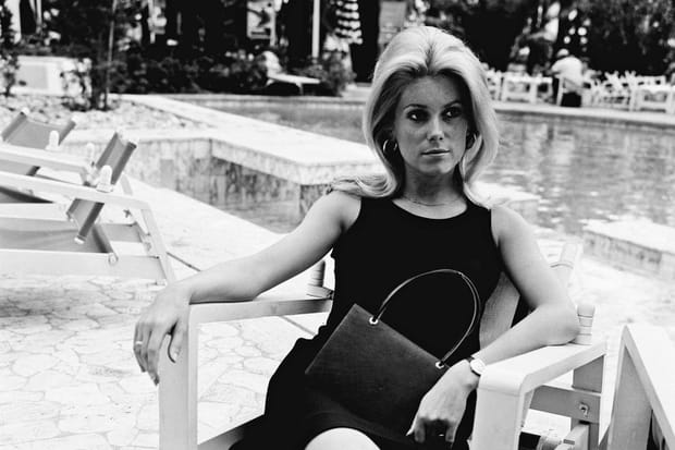 Catherine Deneuve à Cannes en 1965