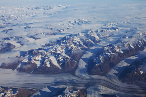 Groenland, le désert de glace