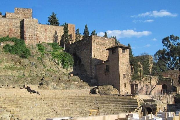 L'Alcazaba, forteresse de Malaga