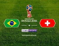 Football - Brésil / Suisse