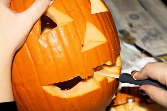 Citrouille d'Halloween: nos astuces pour la creuser et la décorer