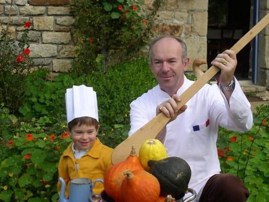 Auberge de Bel Air  - Le chef et son marmiton -   © yvéric
