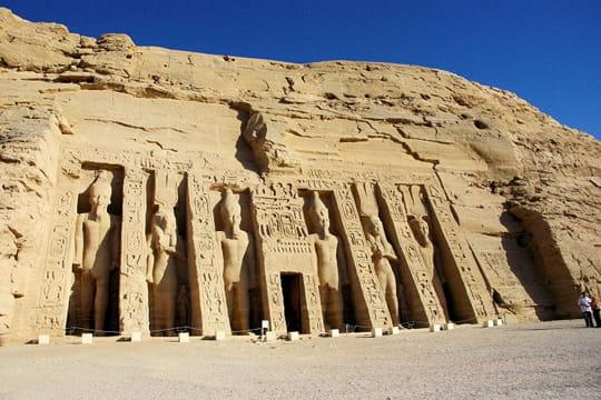 Le temple d'Hathor-Néfertari à Abou Simbel