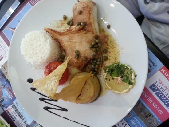 Restaurant du Theâtre  - raie aux câpres beurre noissette -