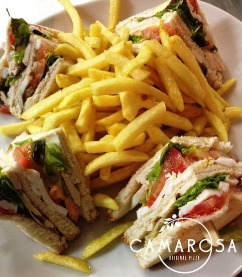 Camarosa Original Pizza  - Club Sandwich Poulet - CAMAROSA Original Pizza -   © CAMAROSA Original Pizza