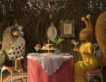 Renard et lapine