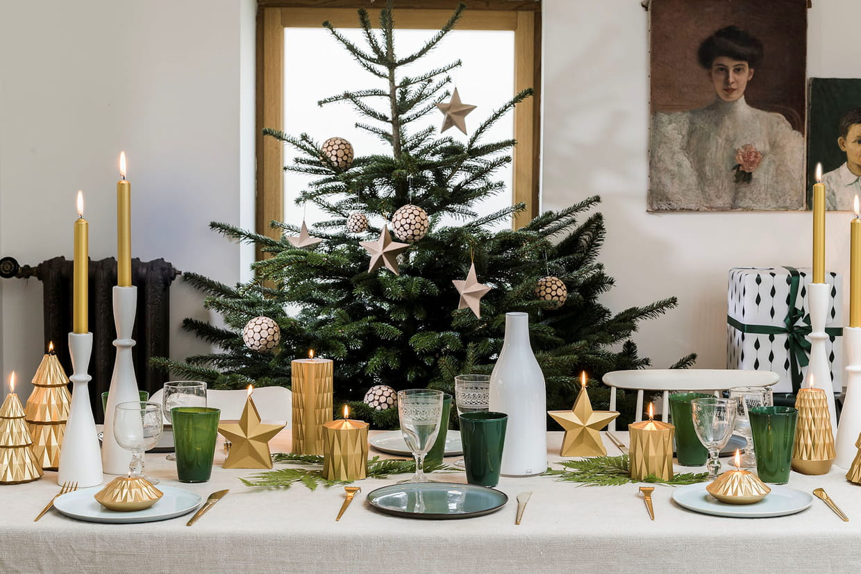 75 Idees De Decoration De Table Pour Les Fetes De Noel