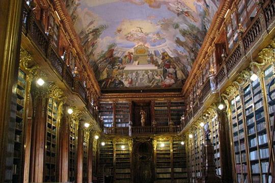 La bibliothèque nationale de Prague
