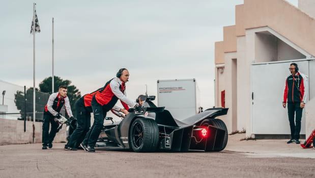 Les images de la nouvelle Formule E de Porsche