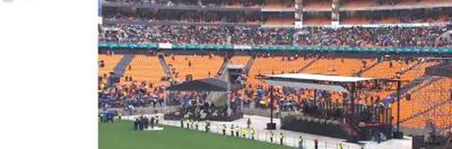 Mandela: le direct de la cérémonie d'hommage [VIDEO]