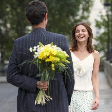 Quelles fleurs offrir pour un premier rendez vous for Bouquet de fleurs pour un homme