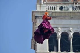 Le vol de l'Ange du Carnaval de Venise comme si vous y étiez