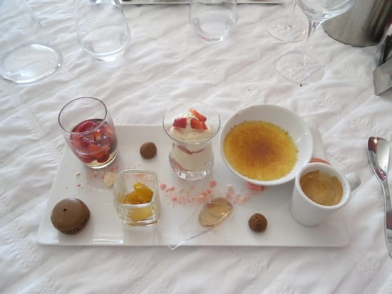 La Villa Saint Pierre  - Café gourmand -   © Stéphane Limouzin