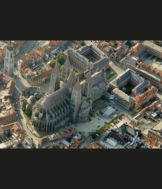 La Cathédrale de Tournai en Belgique