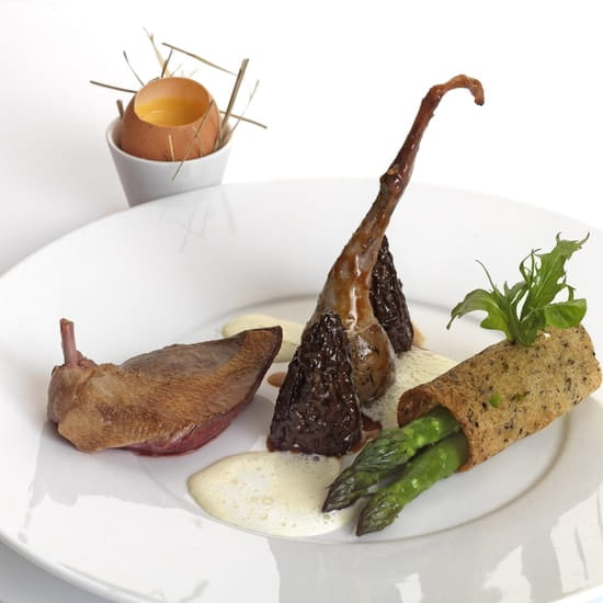 Le Manoir du Lys  - Le pigeon rôti -   © manoir