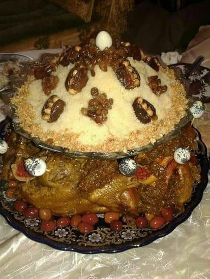 Les Délices du Maroc  - Couscous edfaya -