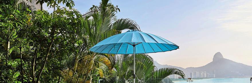Des parasols pour manger et farnienter sans brûler
