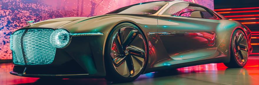 Bentley EXP 100GT: les photos du nouveau concept car ultra-luxueux
