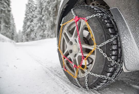 Meilleures chaînes à neige: les bonnes affaires du moment pour l'hiver
