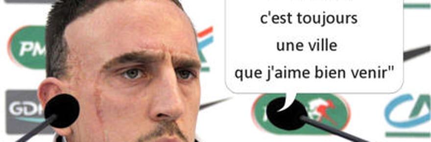 Les plus grosses fautes de français deFranckRibéry