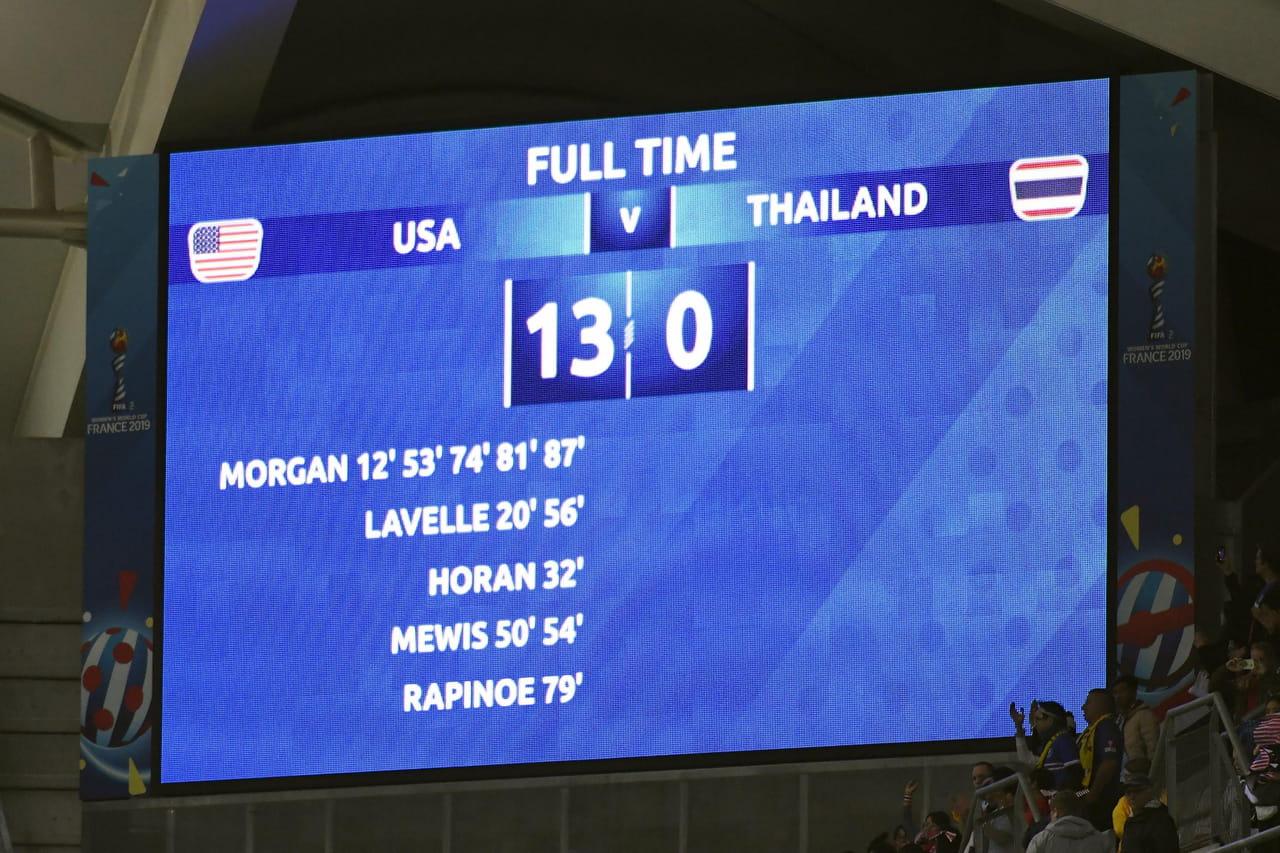 Coupe du monde féminine de football 2019: carton des USA, la France attendue