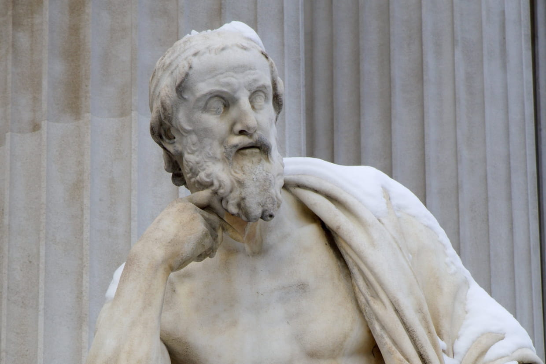 Hérodote : biographie courte de l'historien auteur de l'Enquête